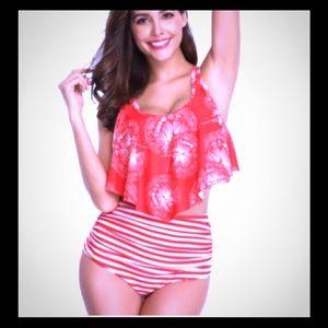 Retro women's Tankini swimsuit 🔥🔥🔥new